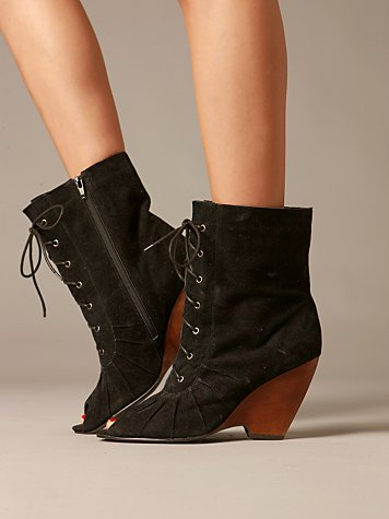 Carmen Peep Toe Wedge