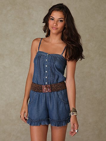 Cat & Mouse Romper
