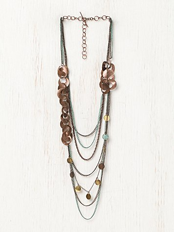 Formos Multi Chain Necklace