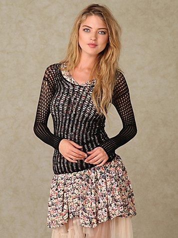 Crochet Layering Top