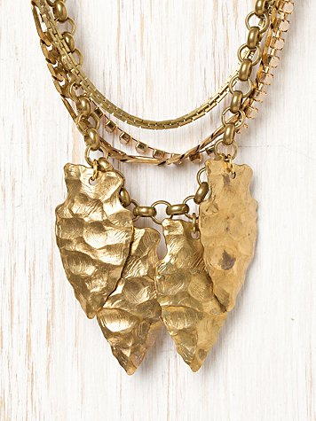 Arrowheads Necklace