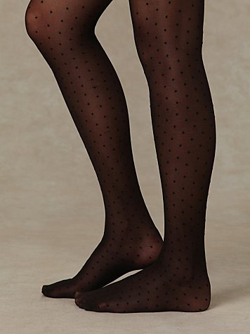Sheer Dots Tight