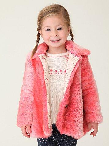 Wee People Fuzzy Fairytale Coat