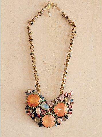 Rhinestone Reef Necklace