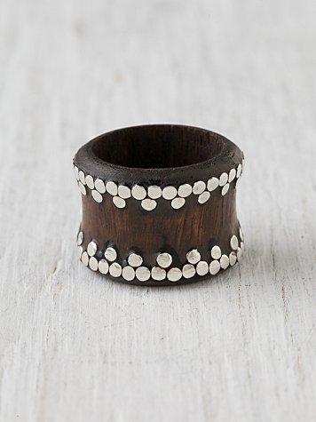 Studded Yuma Ring