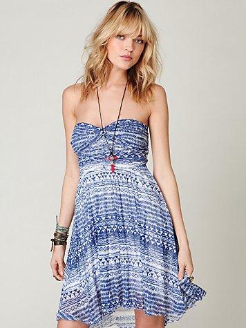 Watercolor Tube Dress