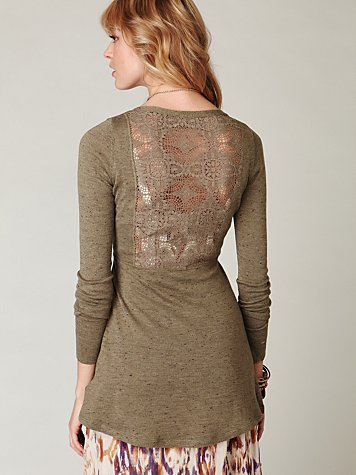 Long and Lean Speckled Cardigan