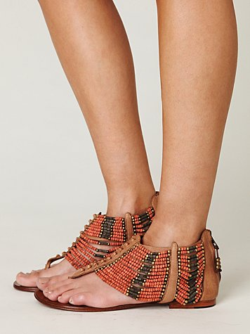 Molly Beaded Sandal