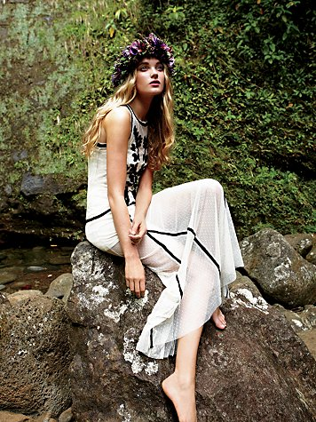 Polynesian Princess Maxi Dress