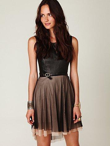 Delphine Mesh Skirt