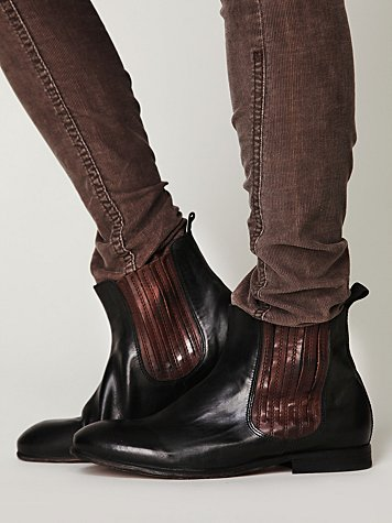 Two-Tone Chelsea Boot