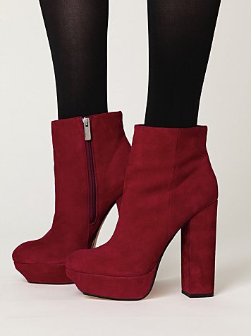 Leigh Platform Ankle Boot