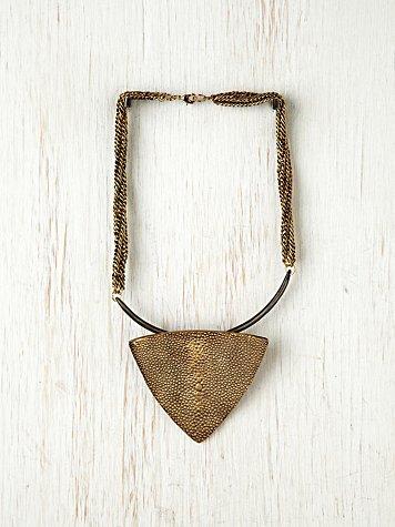 Tribal Triangle Collar