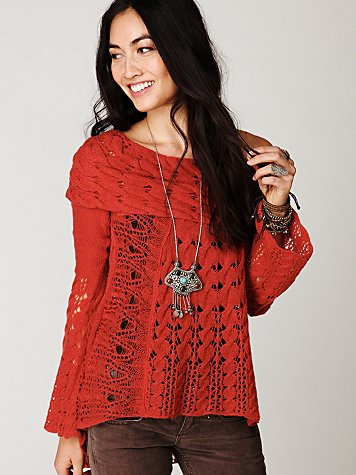 Cool Grace Cable Pullover