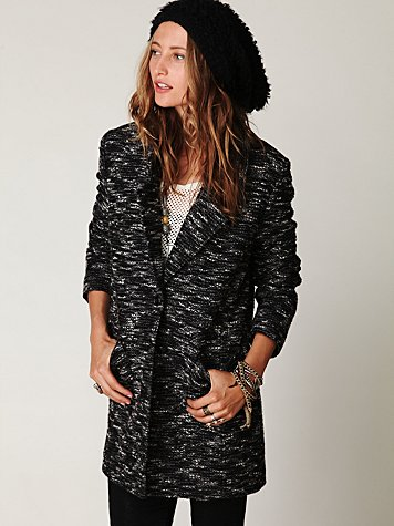 Boucle Textured Jacket
