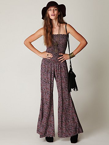 FP ONE Hippie Print Jumpsuit
