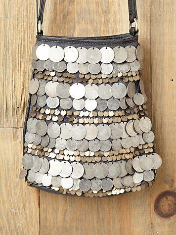 Dancing Coins Crossbody Bag