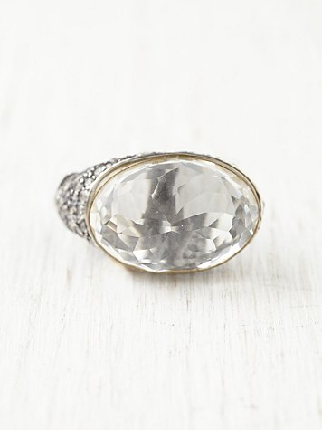 Floating Bauble Ring