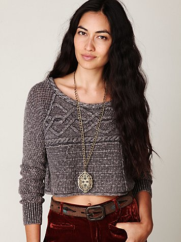 Coolness Cable Crop Top