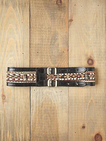 Emma Embroidered Belt