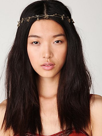 Floral Spun Headpiece