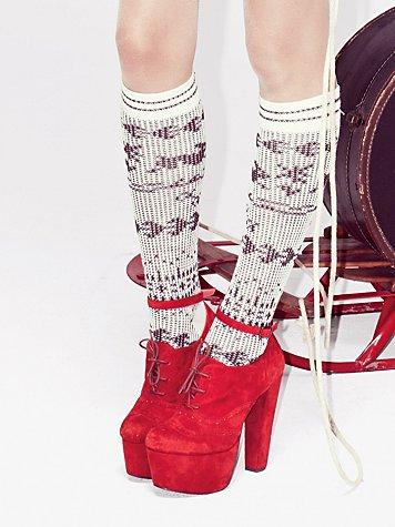 Ski Bunny Tall Sock