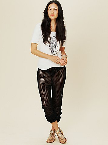 Drawstring Slouch Pant