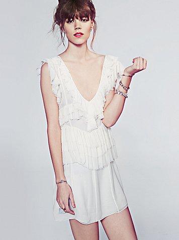 La Boheme Ruffle Dress