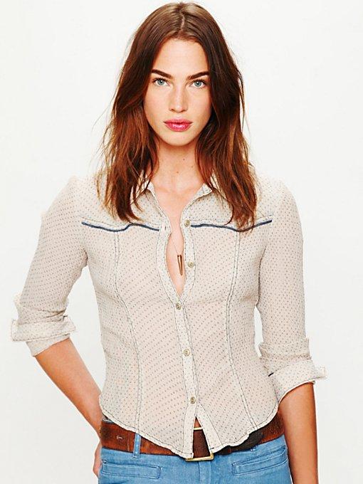 Western Printed Buttondown Shirt