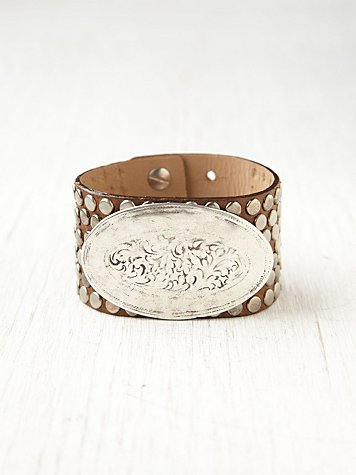 Kalli Leather Cuff