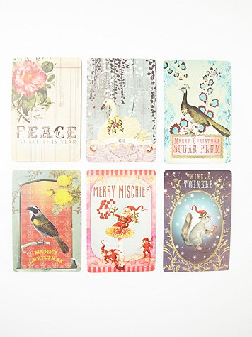 Winter Wishes Holiday Postcards