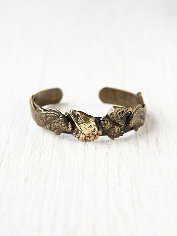 Brass Eagle Cuff