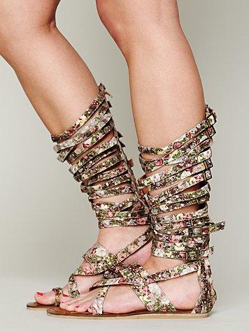 Romana Floral Sandal
