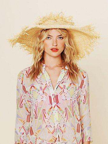Biscayne Straw Hat