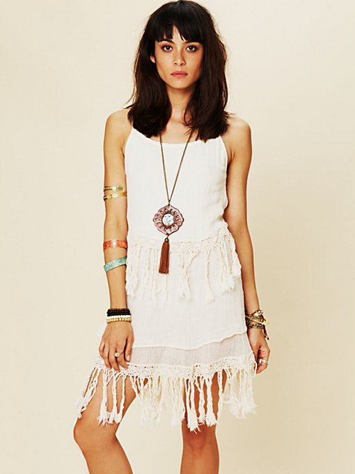 Fringe Dream Mini Dress