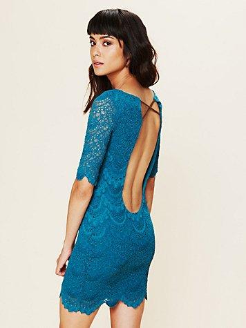 Spanish Lace Priscilla Dress