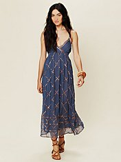 Smoke and Mirrors Maxi Dress