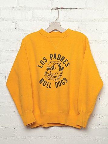 Vintage Los Padres Bull Dogs Sweatshirt