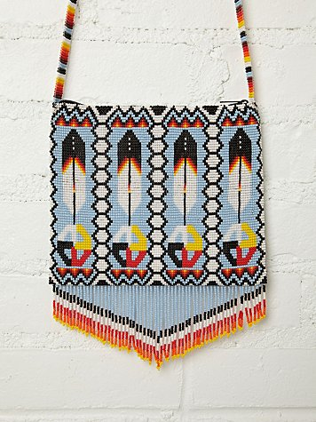 Solstice Beaded Crossbody