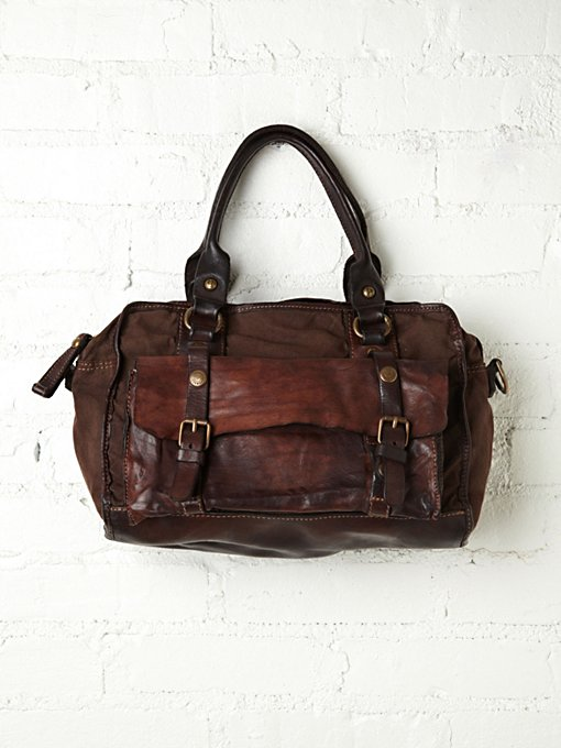 Camillo Distressed Satchel