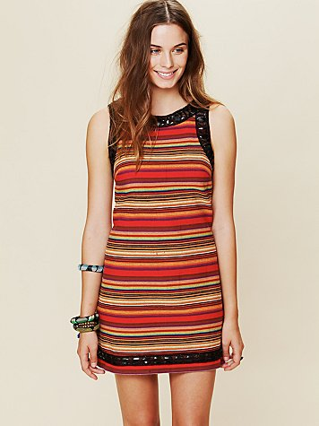 FP New Romantics Tapestry Shift Dress