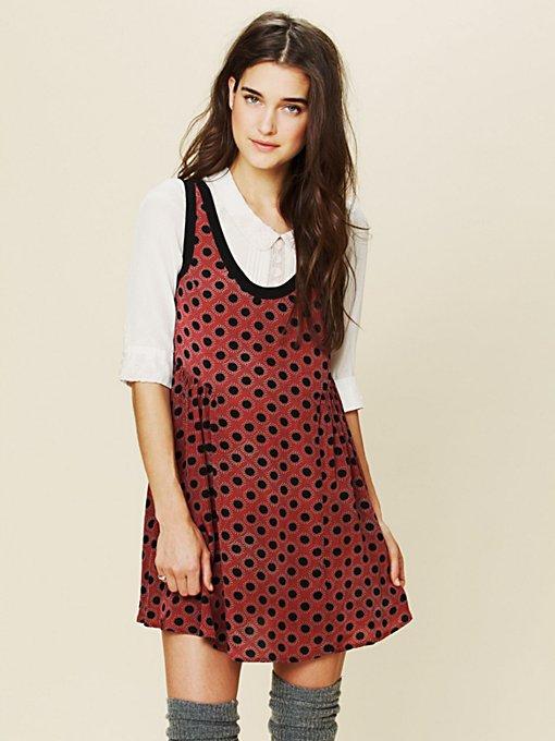 Mollys Dot Swing Dress