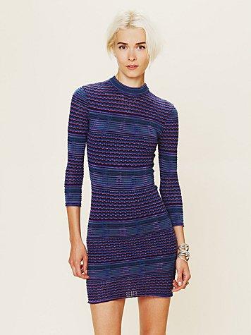 Groovy Sweater Knit Dress