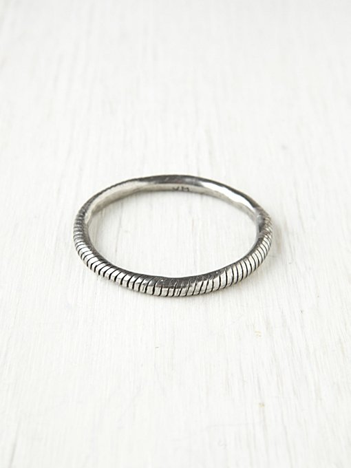 Fight The Power Lined Bangle
