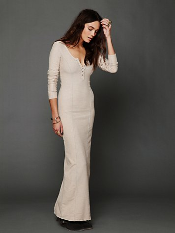 Ginger Seam Column Dress