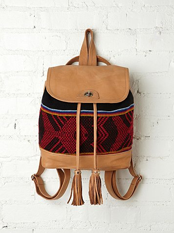 Sadie Print Backpack