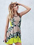 Acid Bloom Kick Out Dress