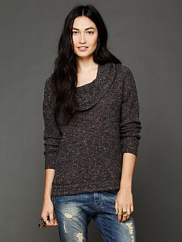 Slouchy Cowl Pullover