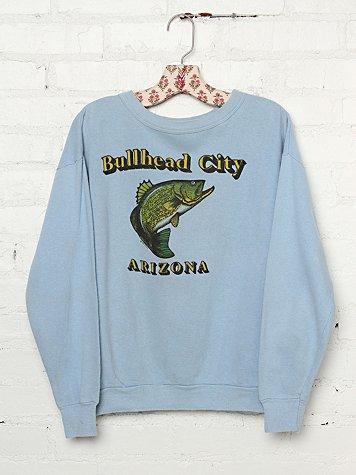 Vintage Bullhead City, Arizona Graphic Pullover