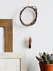 Mini Wood Dreamcatcher